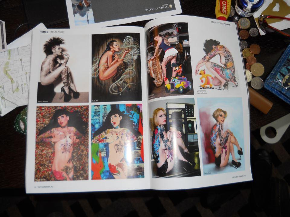 "Hungarian ""Tattoo"" magazine   October 2012"