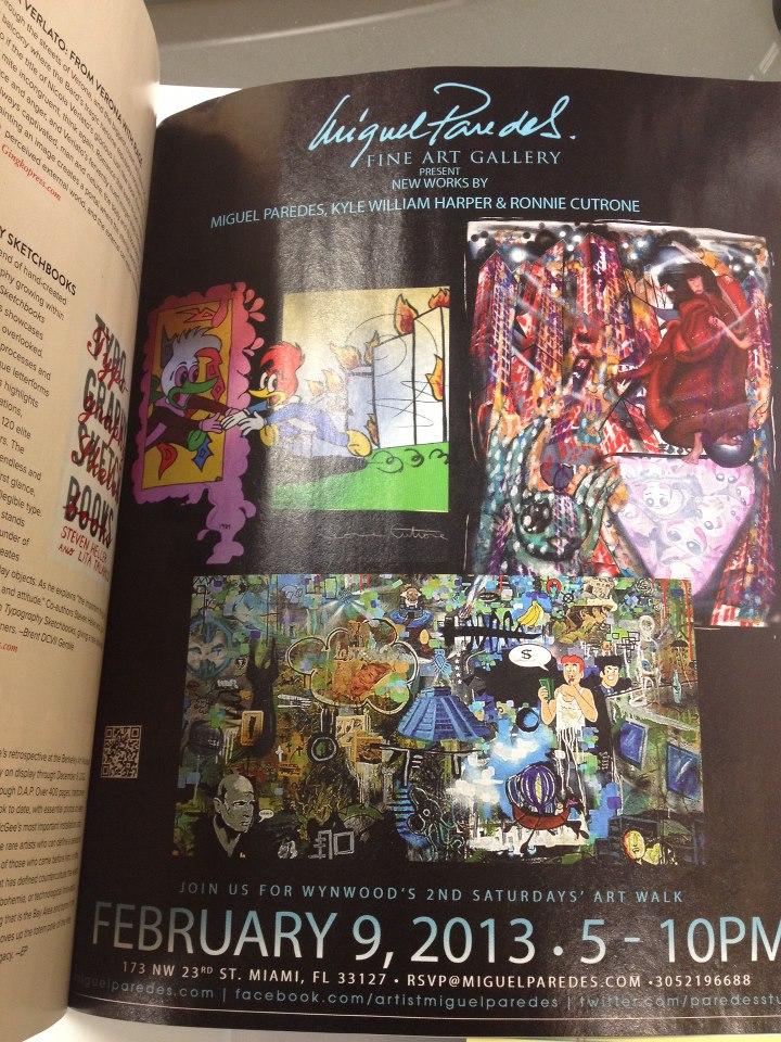 Juxtapoz Magazine  February 2013