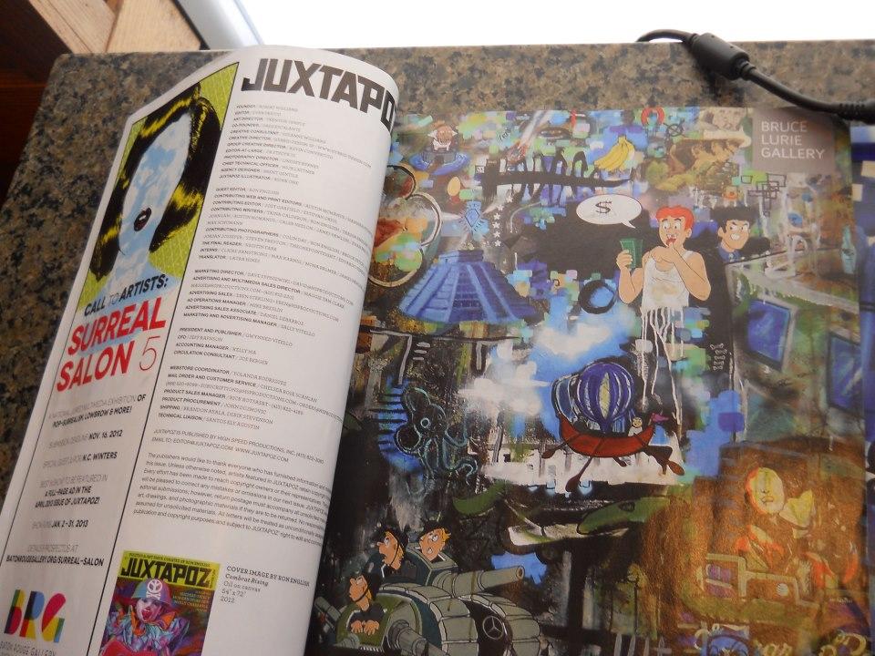 Juxtapoz Magazine  Nov 2012 page 11