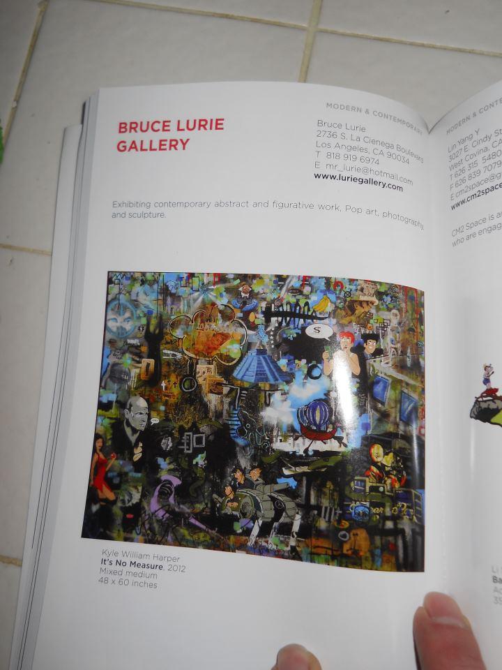 L.A Art Show Book  Jan 2013page 89