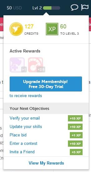 freelancer gamification