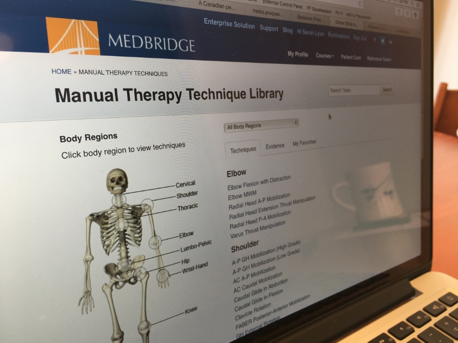 The pros and cons of using MedBridge's reference tools.