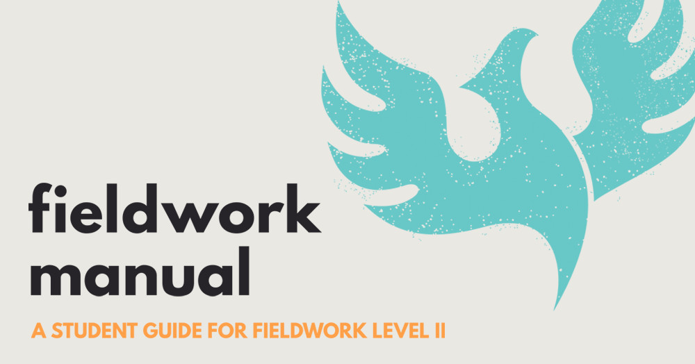 A fieldwork manual that helps you to focus providing great supervision when you host a student.