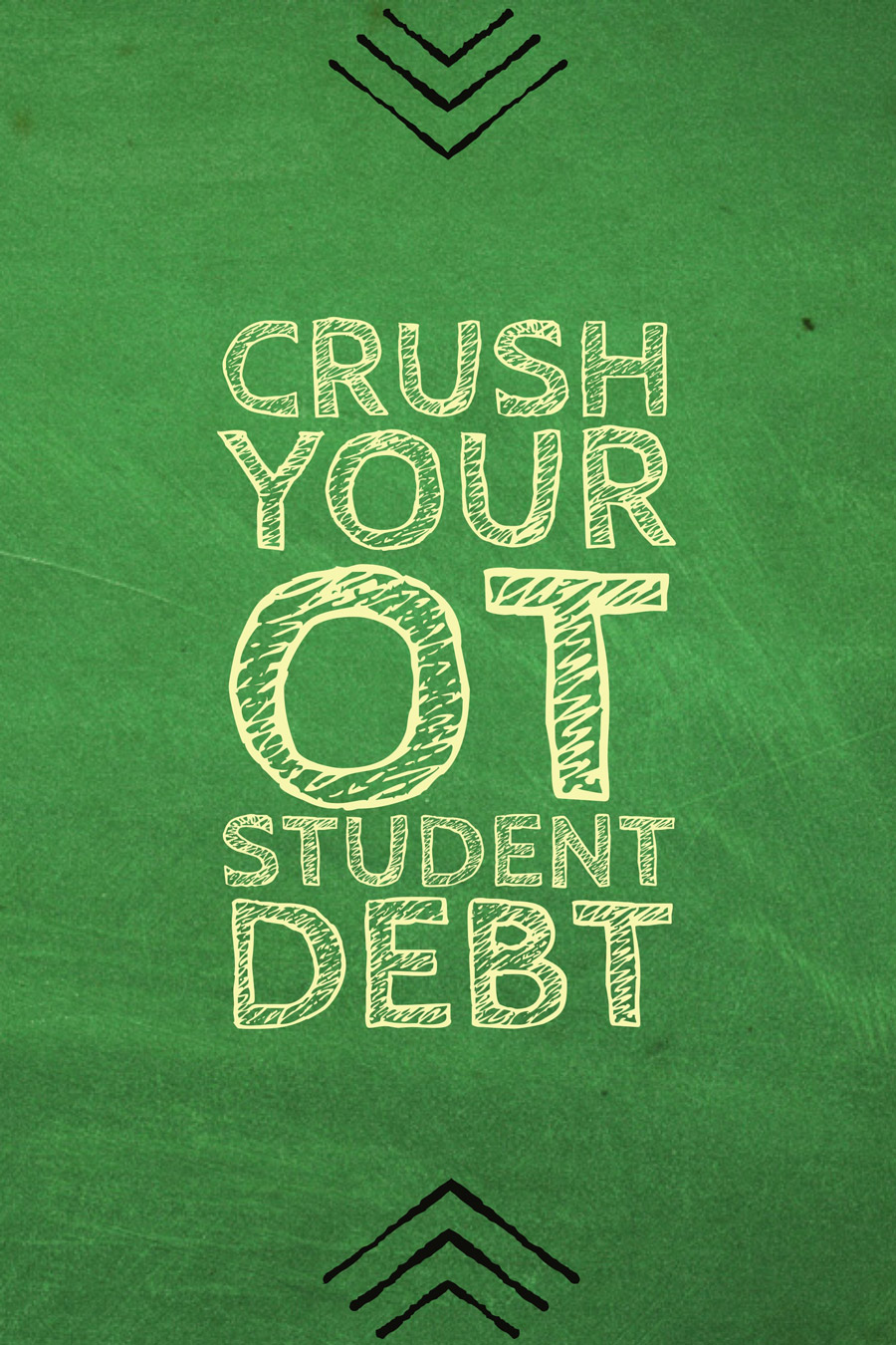 Here are a list of concrete suggestions for crushing your occupational therapy student debt.