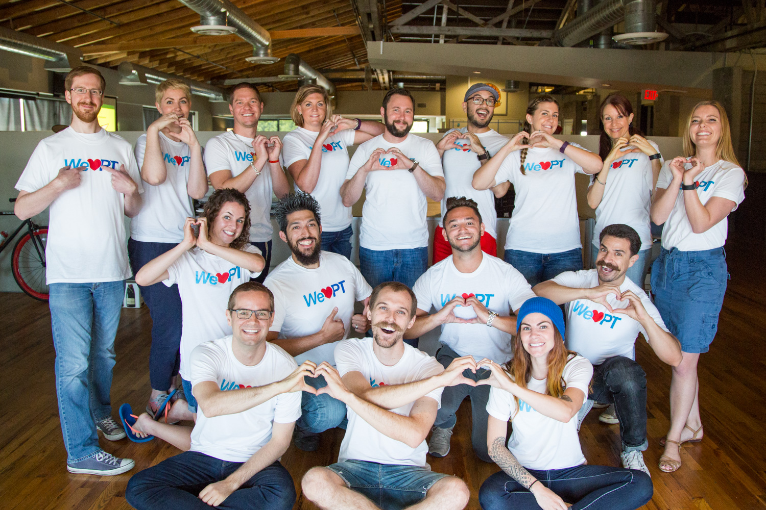 The WebPT marketing team answers your questions! (Photo Credit: WebPT)