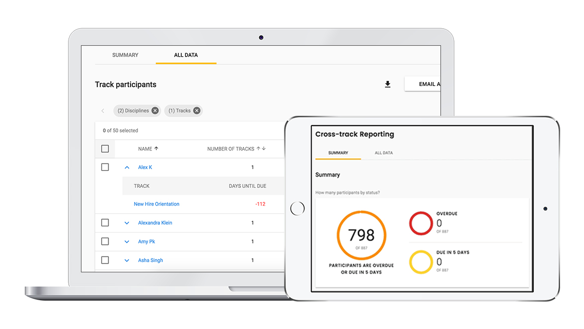 The MedBridge Enterprise Learning Management system makes onboarding and monitoring professional competency much easier!