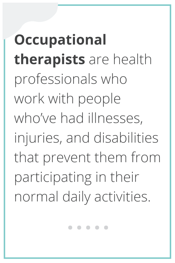 A definition of occupational therapy