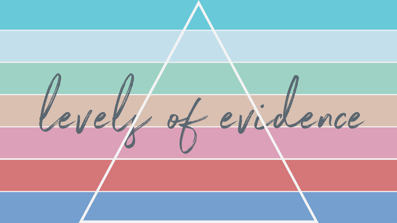 Curious to learn more about the levels of evidence in occupational therapy? This post walks you through a general overview of why levels of evidence matters for OT, and how the different ways of conceptualizing of the levels can aid you deciphering research.