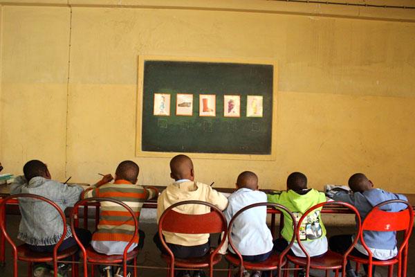 Apoio na Escola Primária.