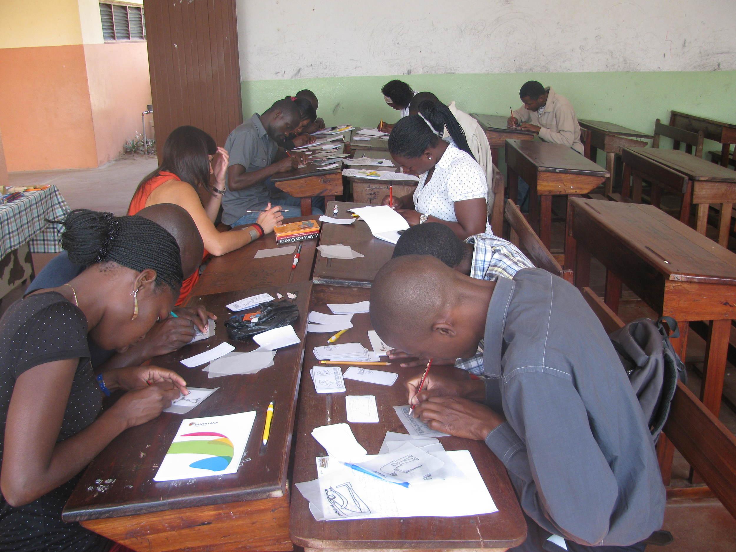 Formação de professores da Katembe
