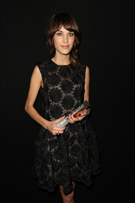 British Style winner (voted by the public)   Alexa Chung