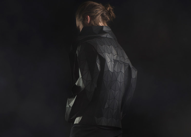 Wood & Leather jacket, Sruli Recht & Elisa Stroyk