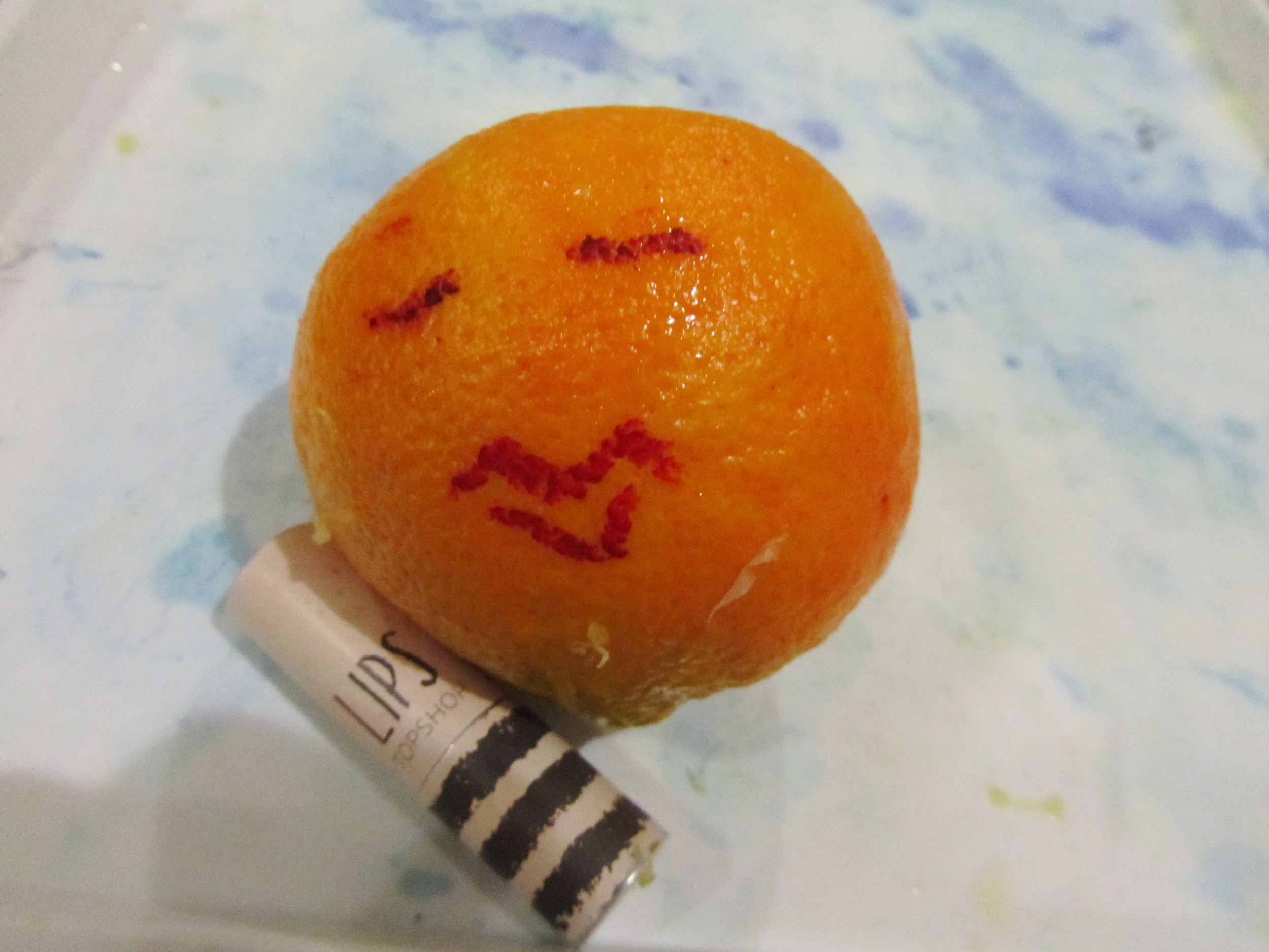 """giving my """"Ancient Egyptian"""" orange a bit of character"""