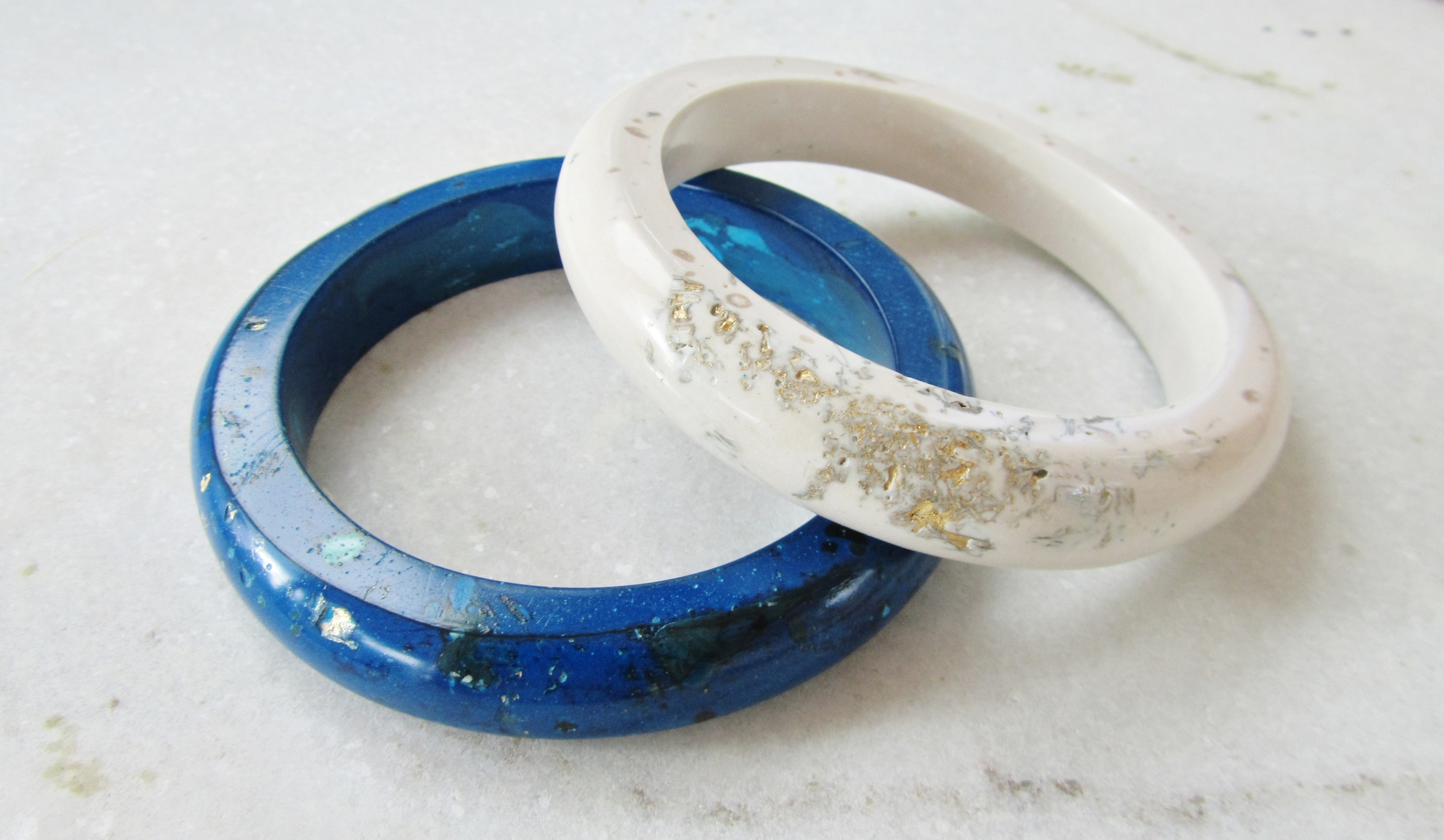 blue and white hewn bangles jade mellor.JPG