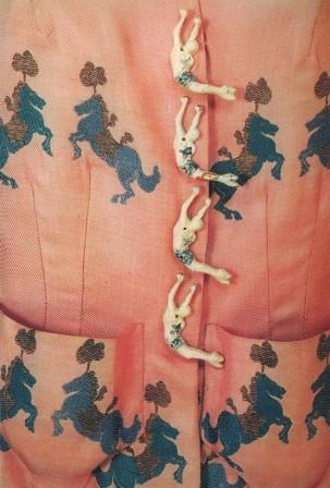 "Schiaparelli's ""Trapeze"" Buttons"