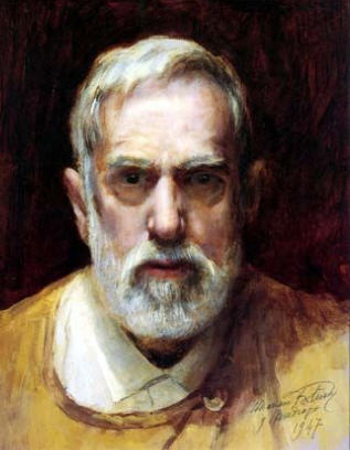 Self portrait by Fortuny