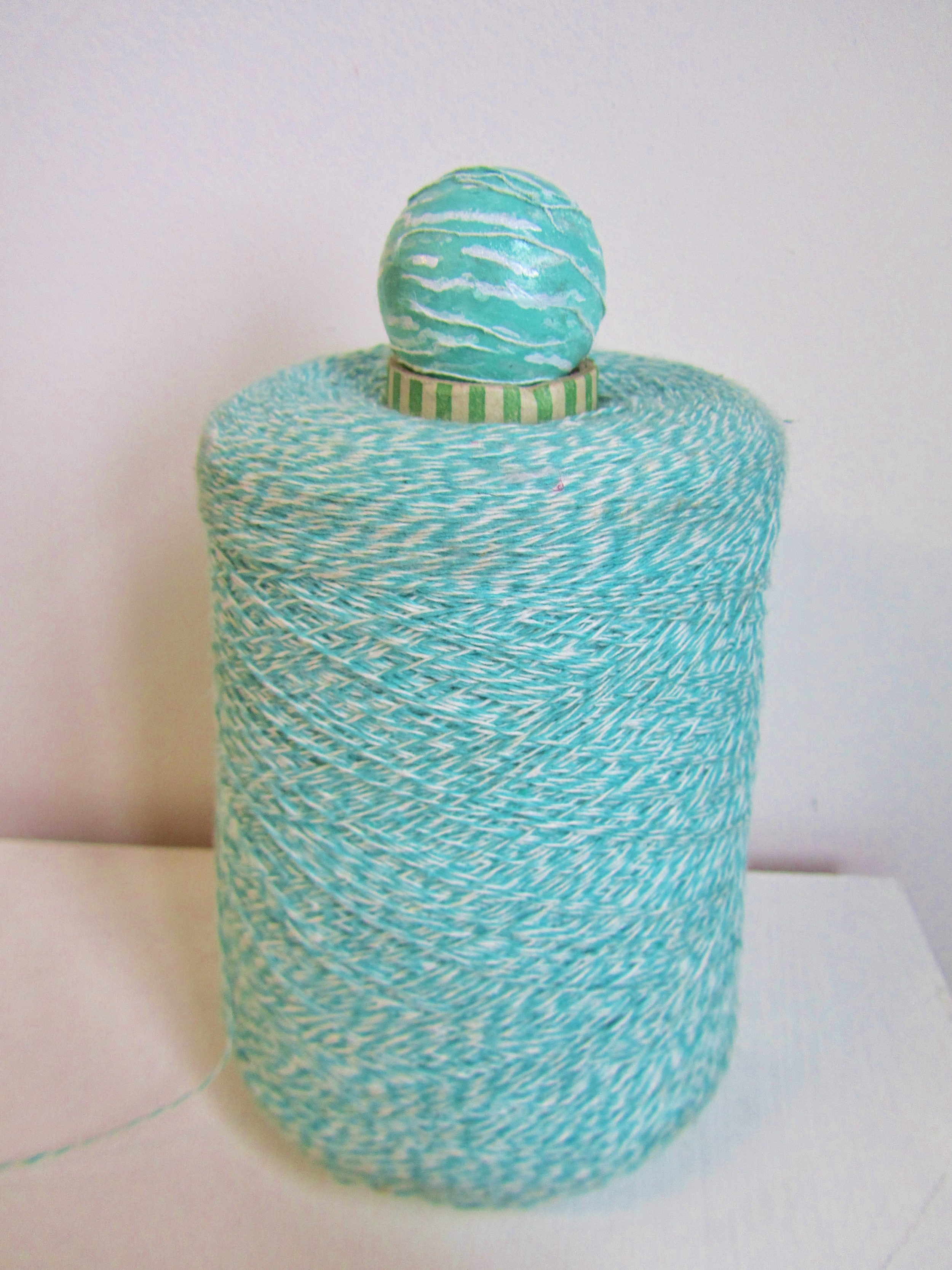 This yarn is so much like Perthite I had to use it!