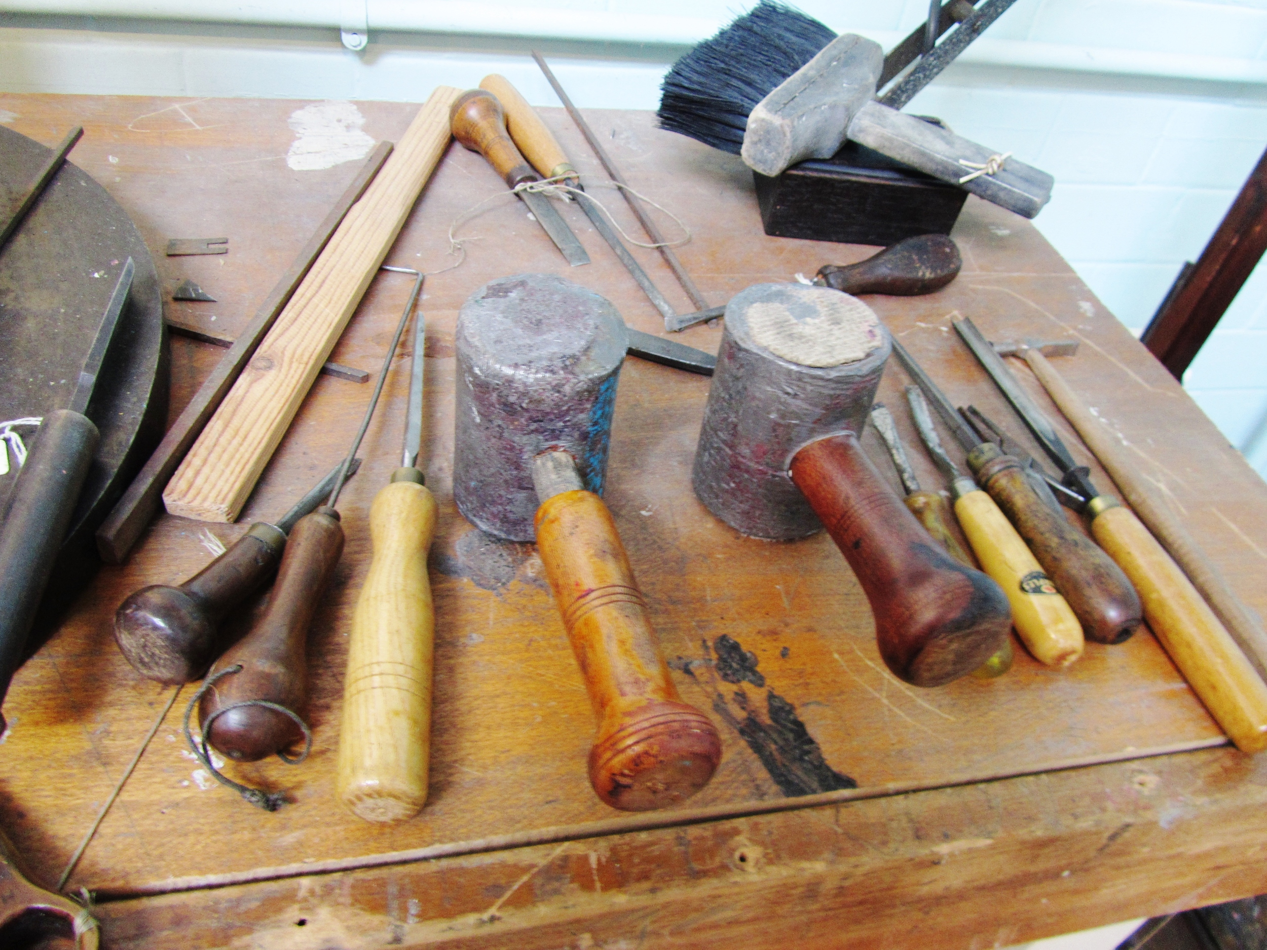 Tools from the trade, Silk Museum, Macclesfield
