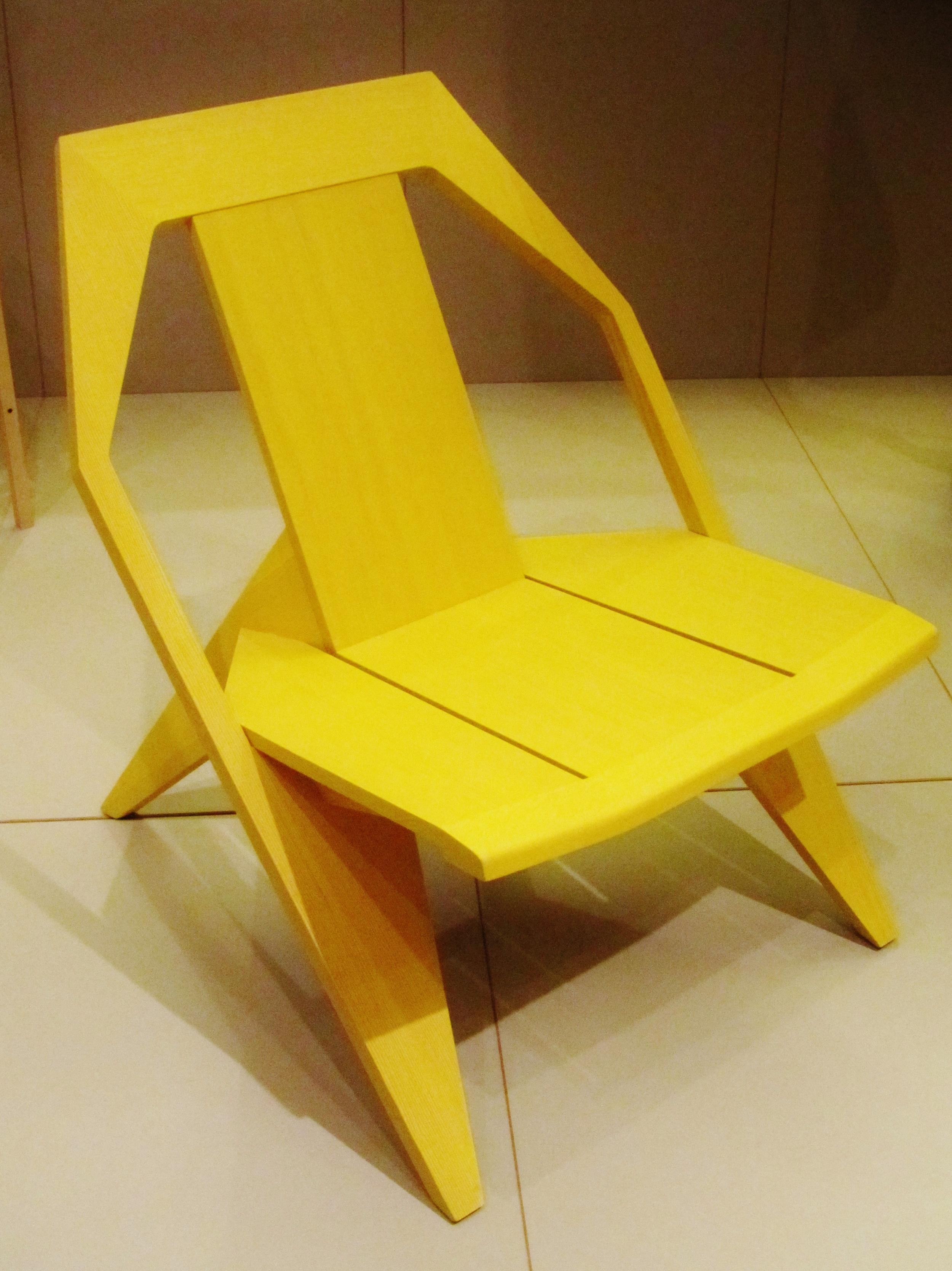 WINNER: FURNITURE  Medici Chair, Konstantin Grcic