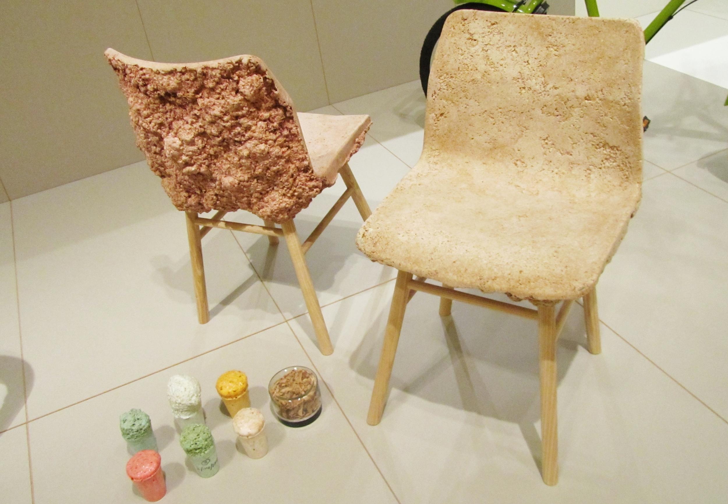 Well Proven Chair, James Shaw & Marjan Van Aubel