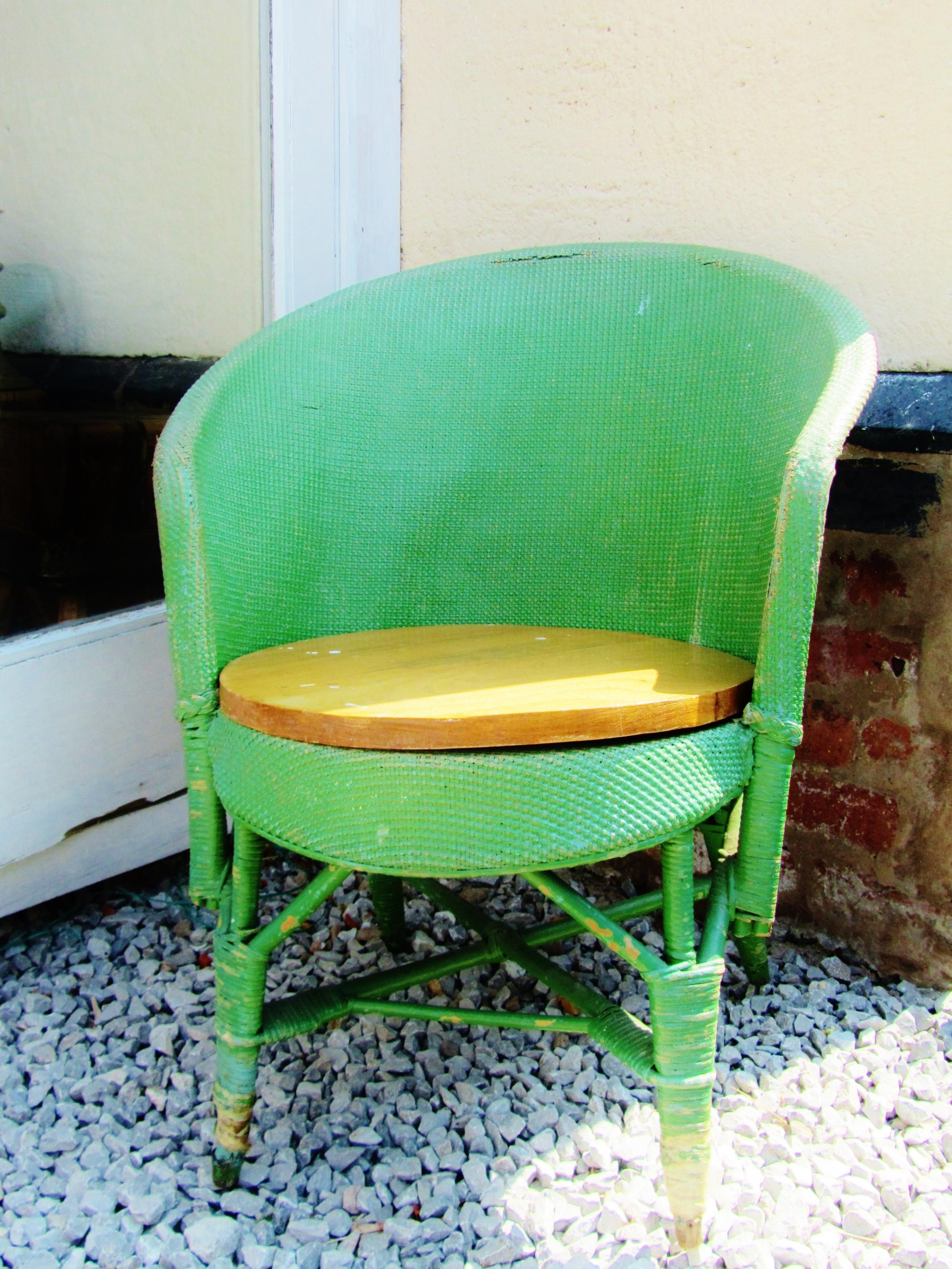 my fave green chair jade mellor.JPG