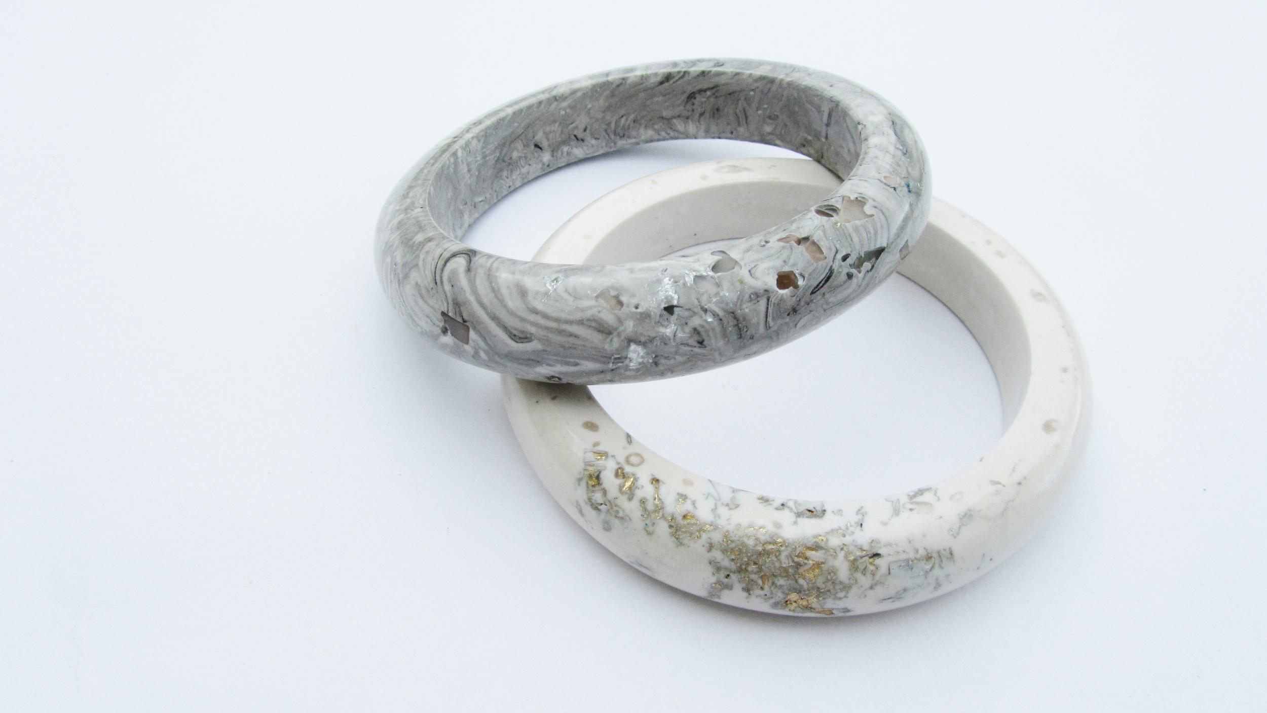 jade mellor hewn bangles grey marbled white gold.JPG