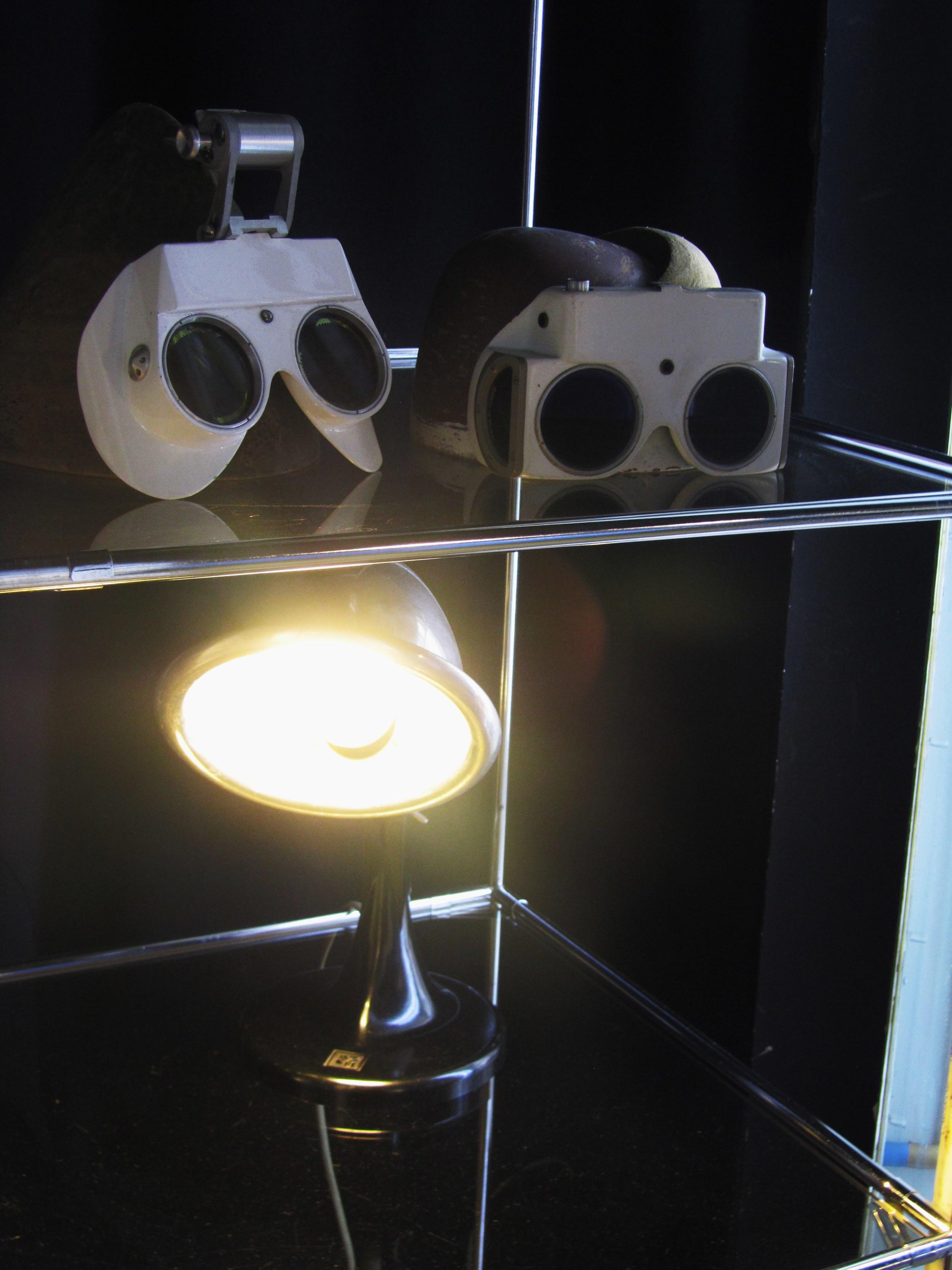 Designpanoptikum - surreales Museum für industrielle Objekte optical masks.JPG