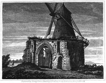Engraved by J Greig, from a sketch by L Francia, for Excursions through Norfolk