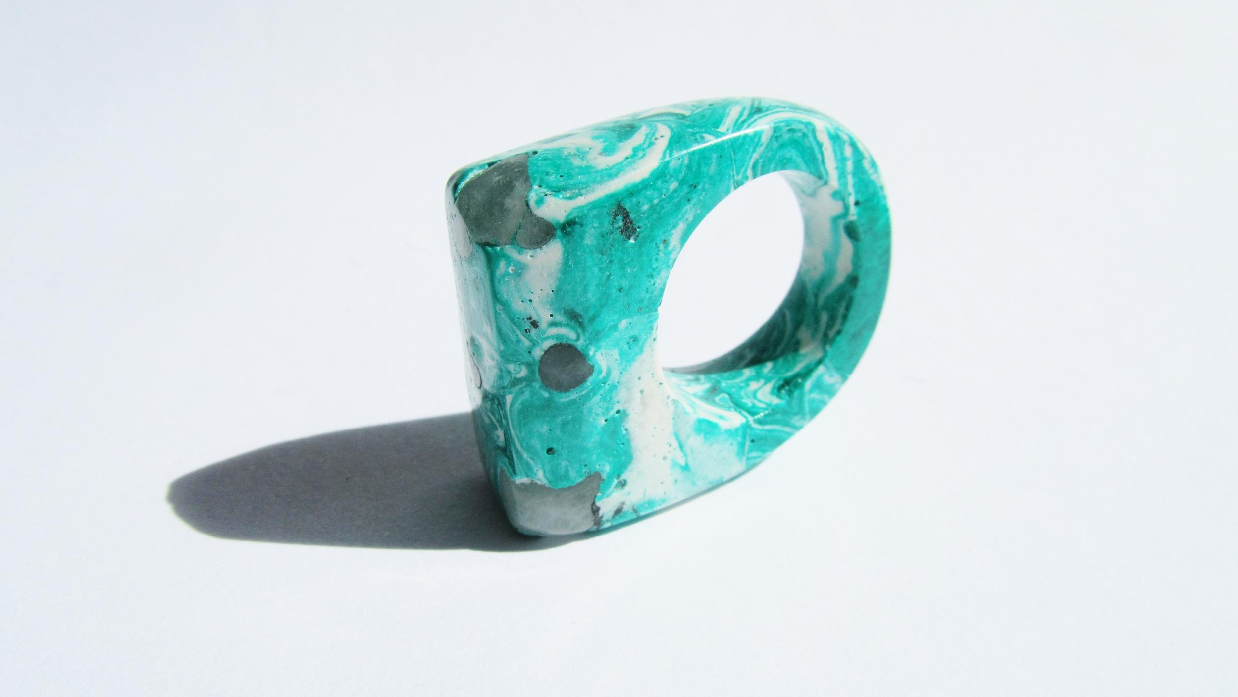 jade mellor hewn ring white malachite quartz P-Q 3.JPG