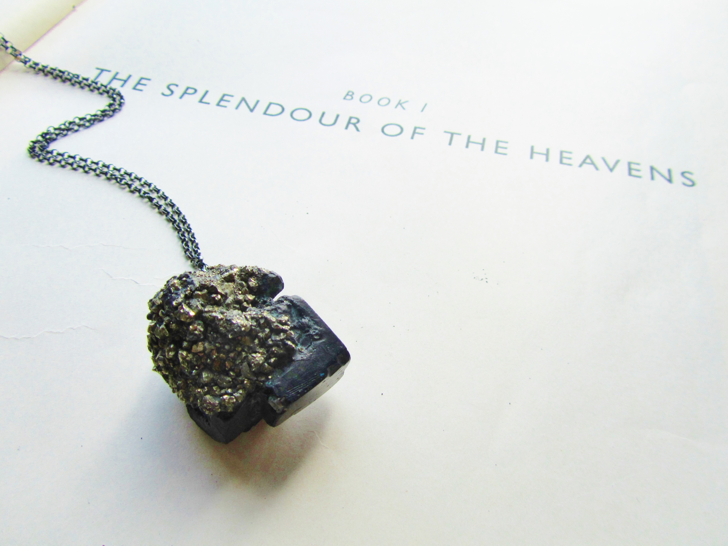 pyrite cube necklace pyrite nugget encrusted jade mellor.JPG