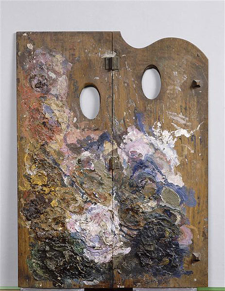 A palette from Paul Gauguin