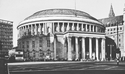 Manchester's beautiful 1930s Library was loosely based on the Pantheon in Rome.