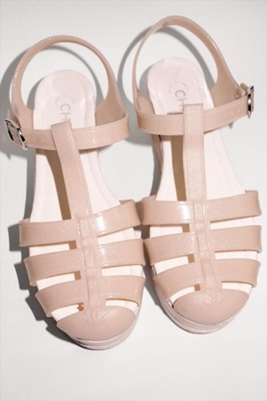 Chanel Jelly Shoes!