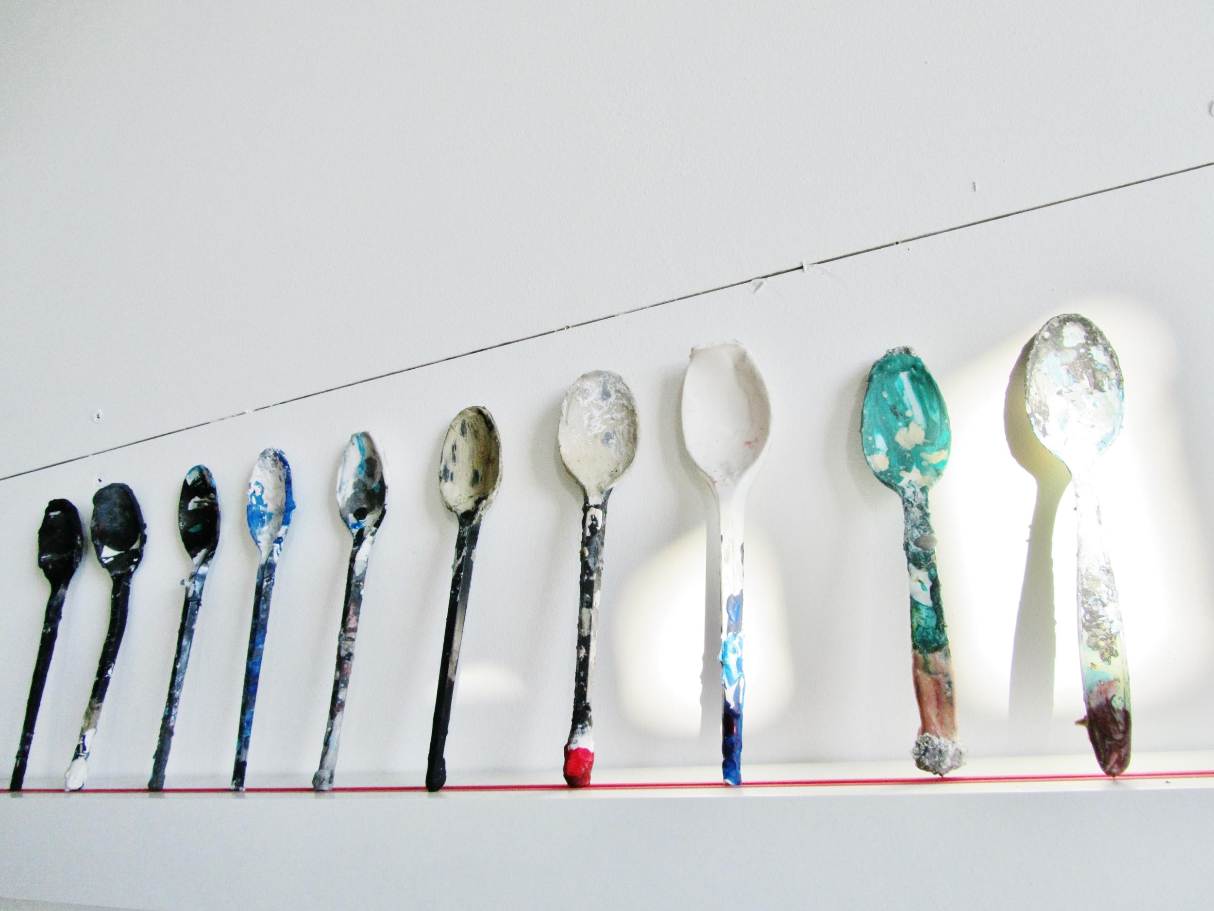 Spoons in my studio