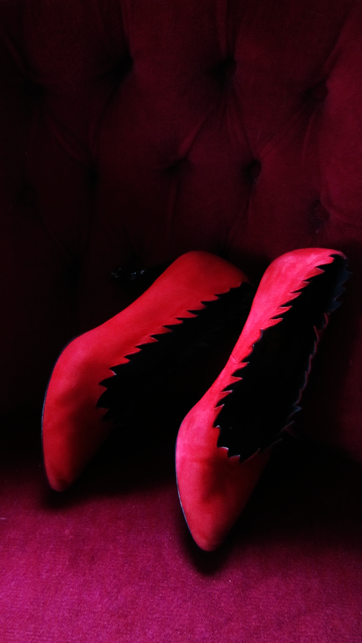 My favourite red shoes.