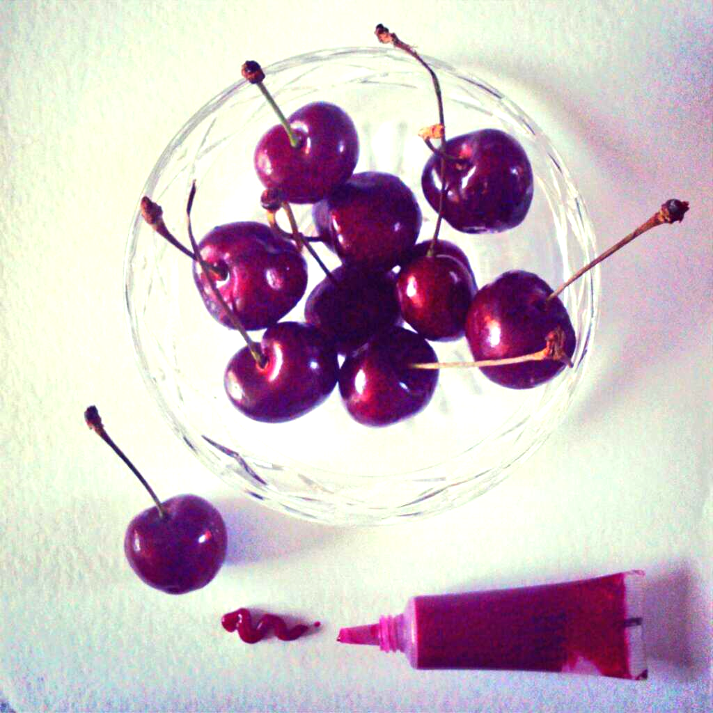 My fave lip tint looks just like a neater version of eating a bowl of cherries