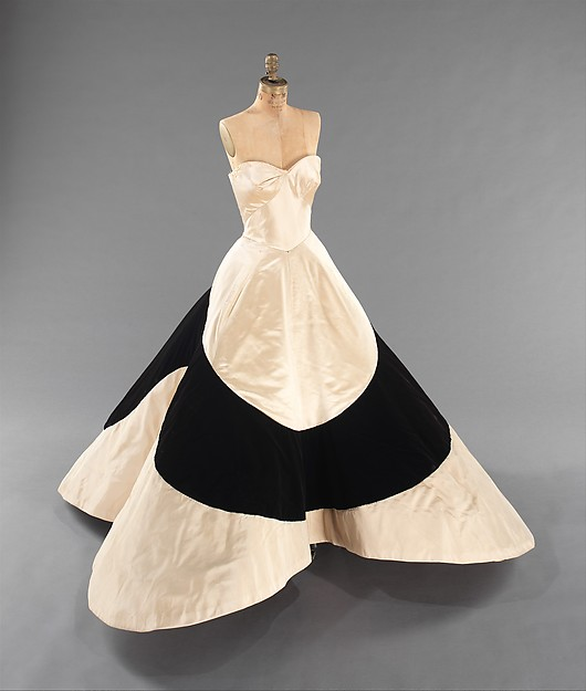 "Charles James ""Clover Leaf"" Dress from 1953."