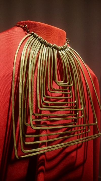 Wire necklace by Alexander Calder at Louisa Guinness Gallery