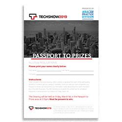 Passport to Prizes  $750