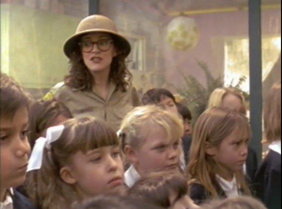 "In the award-winning AFI grad short ""Family Attraction""—and a pith helmet!"