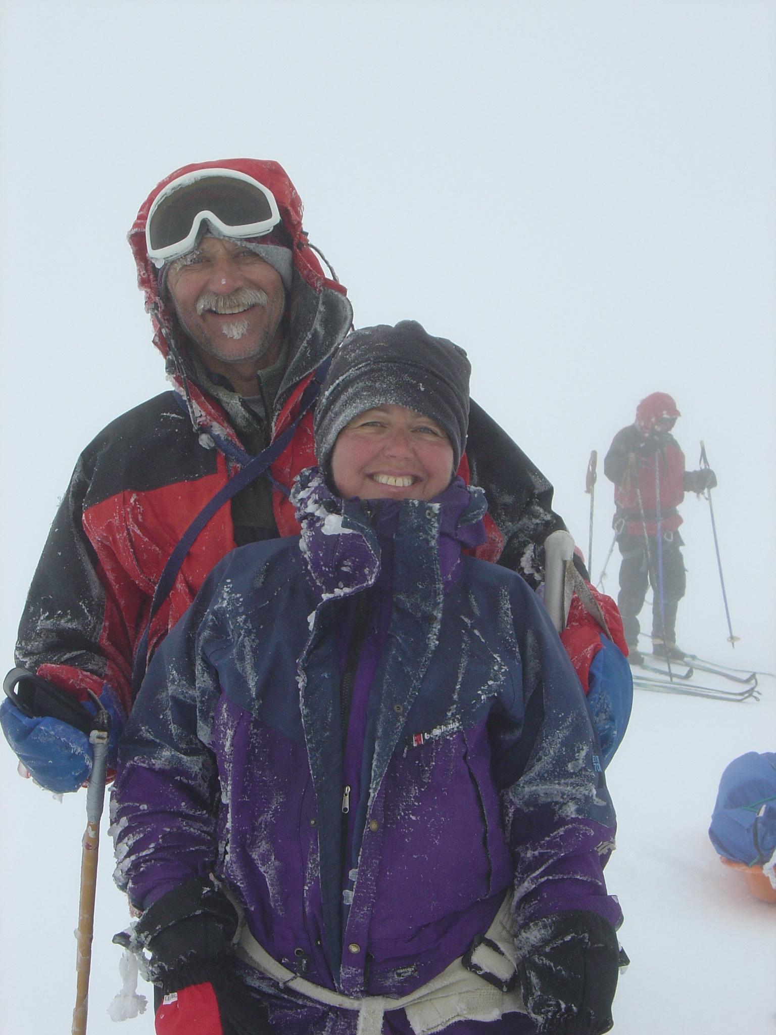 snow hiking in snæfellsnes