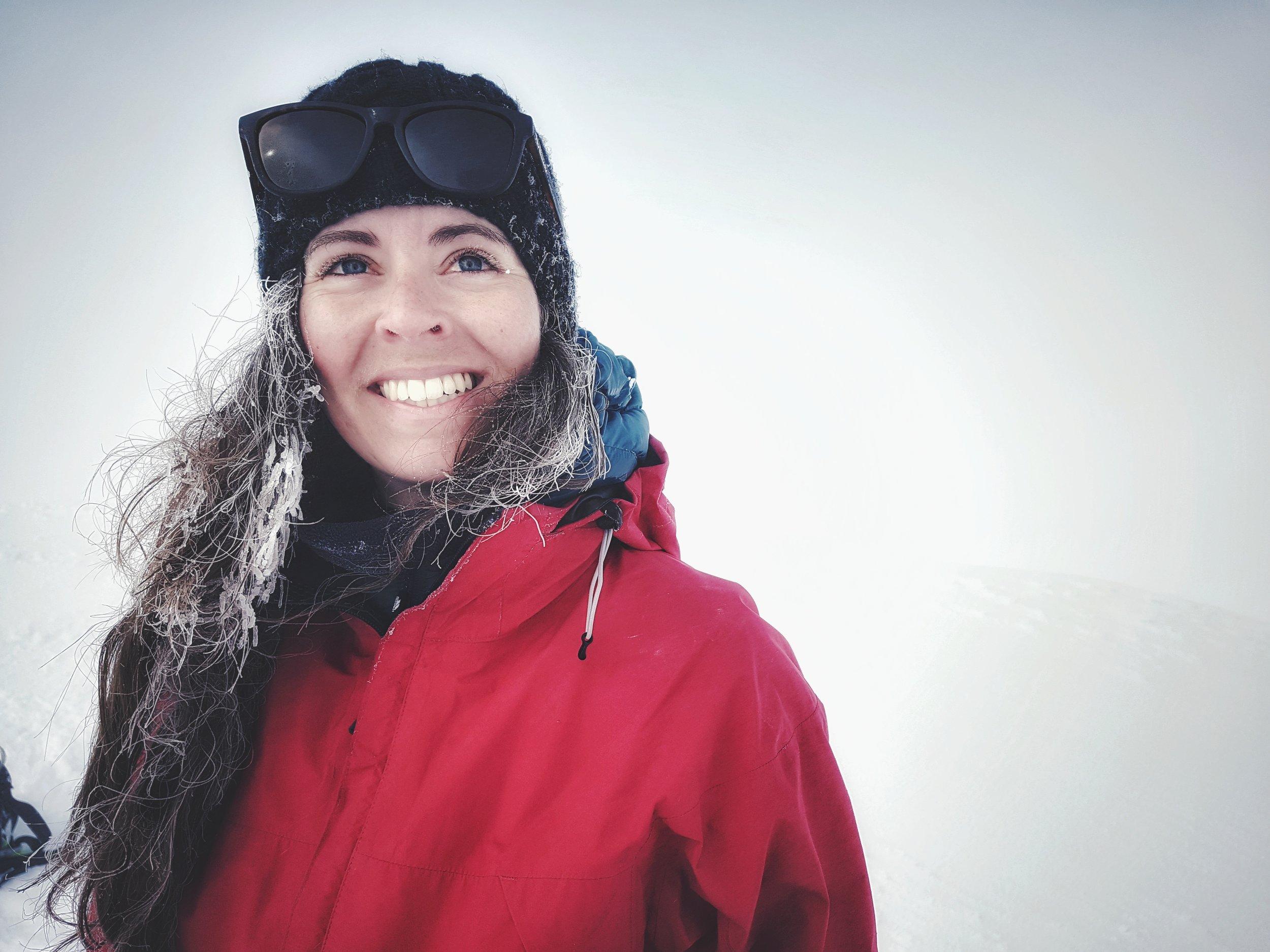 happy guests on snæfellsjökull Glacier