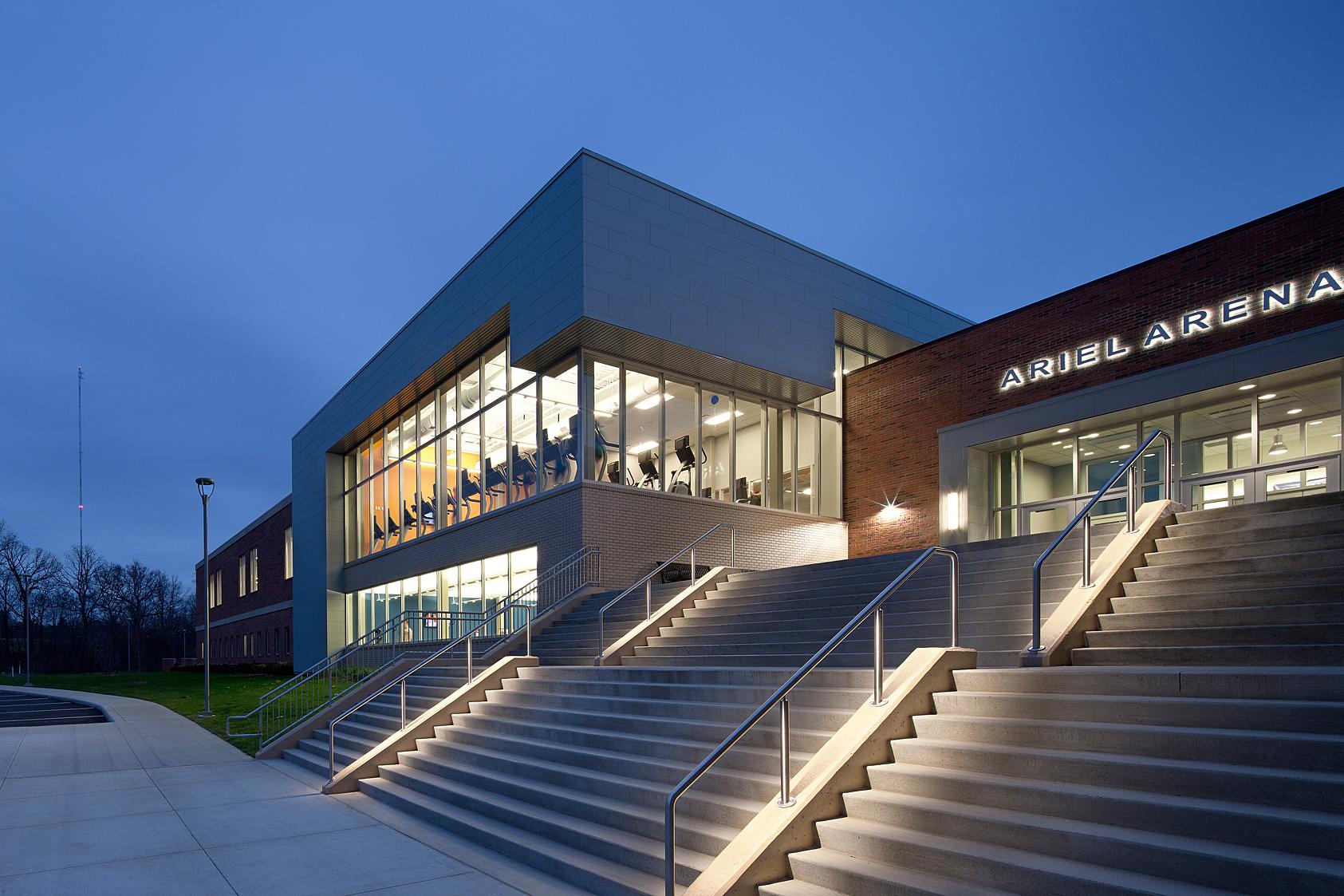 sports recreation | Mount Vernon Nazarene University Ariel Arena