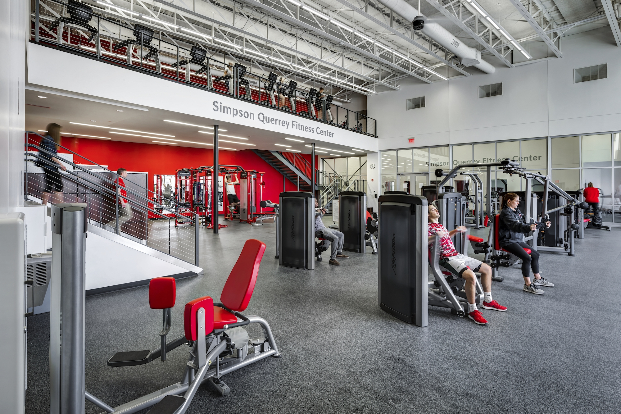 Edwards Gym & Simpson Querrey Fitness Center - Ohio Wesleyan University Delaware, Ohio