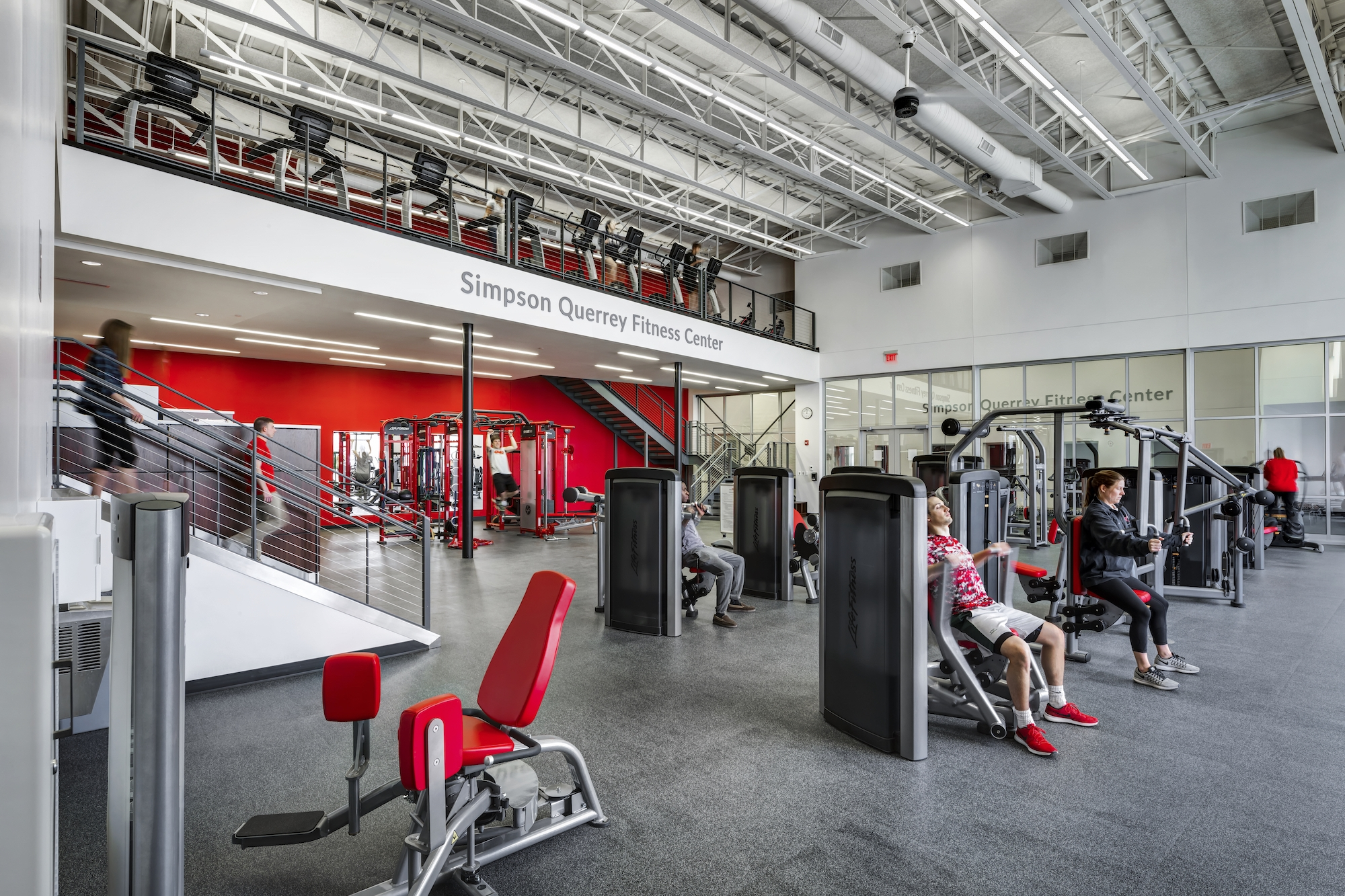 Ohio Wesleyan University Edwards Gym & Simpson Querrey Fitness Center - Delaware, Ohio