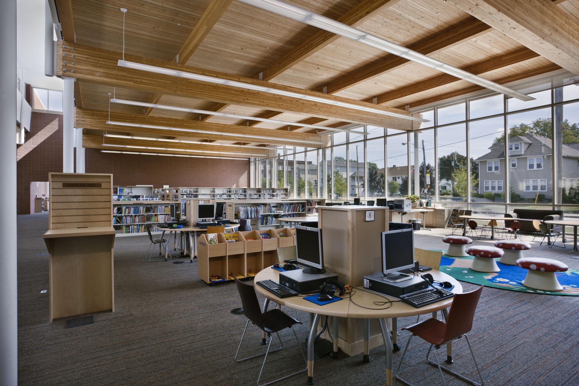 Cleveland Public LibraryRice Branch - Cleveland, Ohio