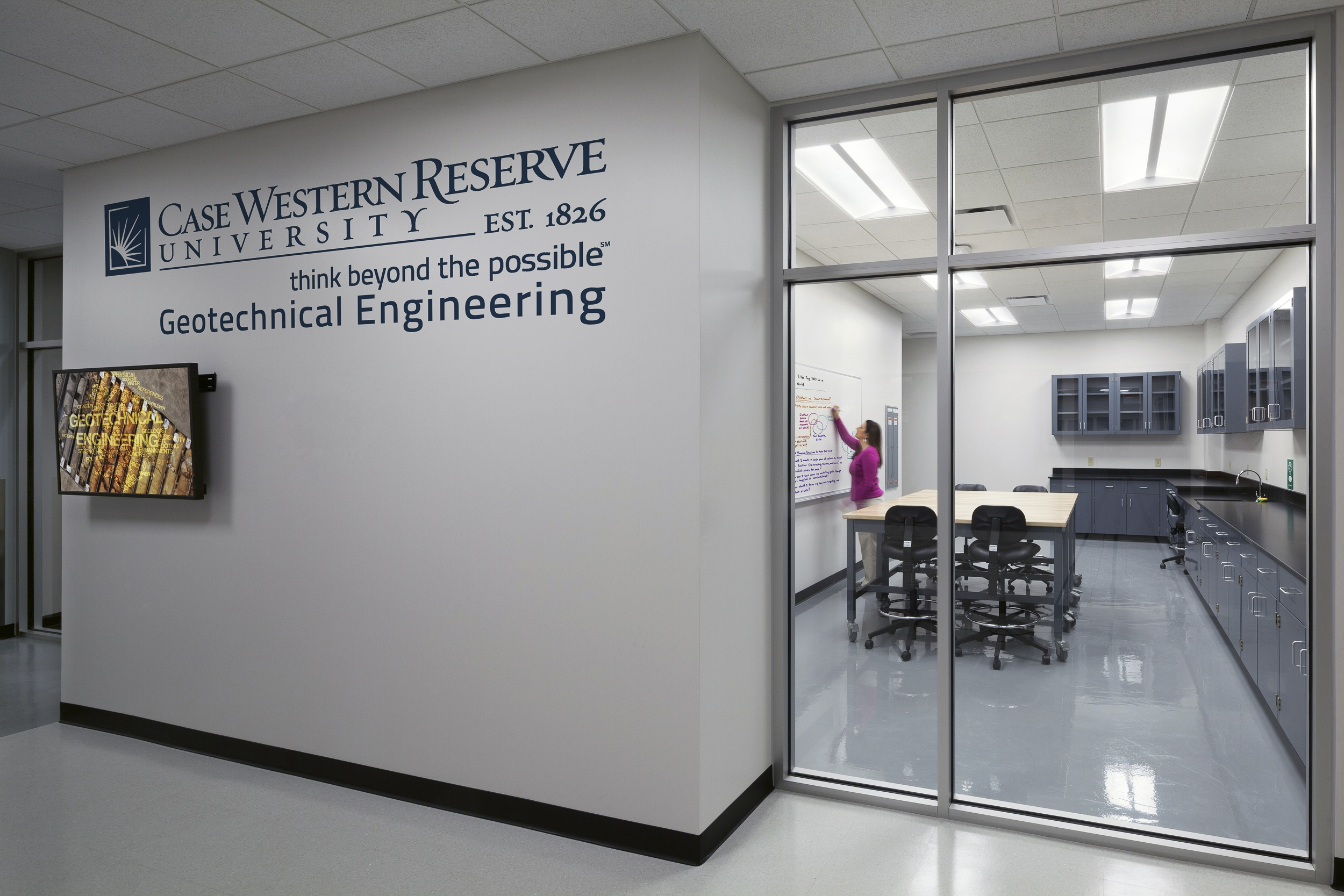Case Western Reserve University Bingham Building Geotechnical Lab - Cleveland, Ohio