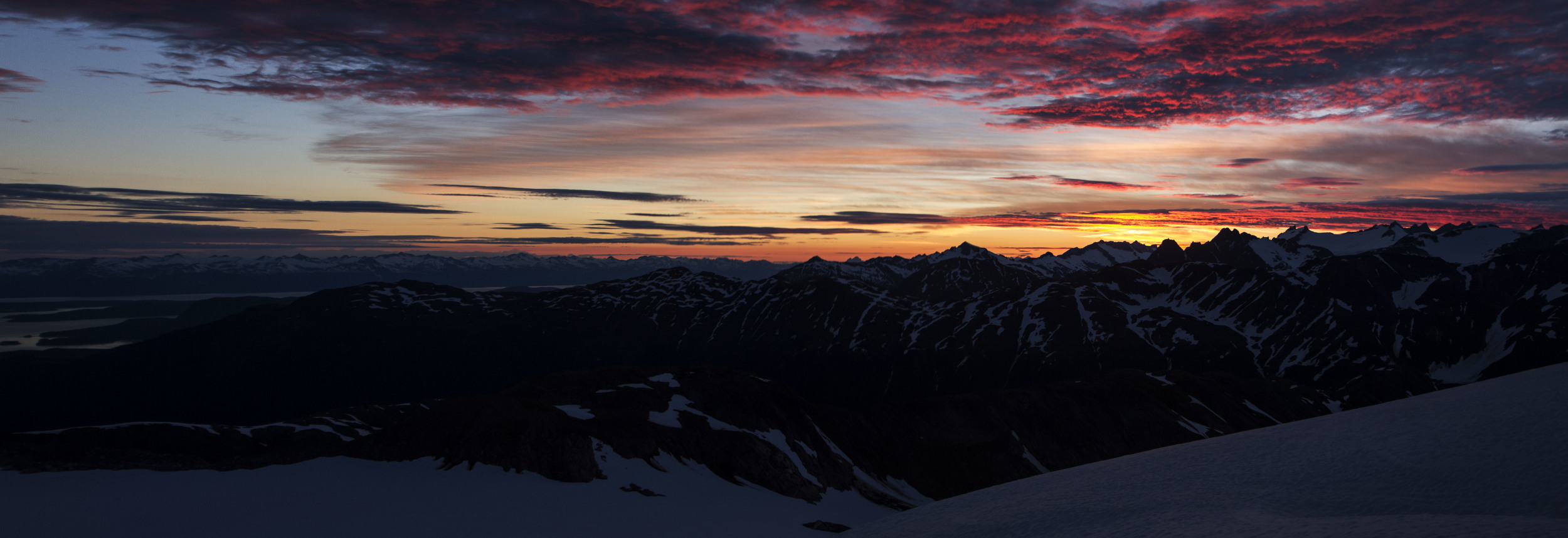 Sunsets and mountains create a feeling of serenity for many JIRP participants, past and present. Photo: Adam Taylor