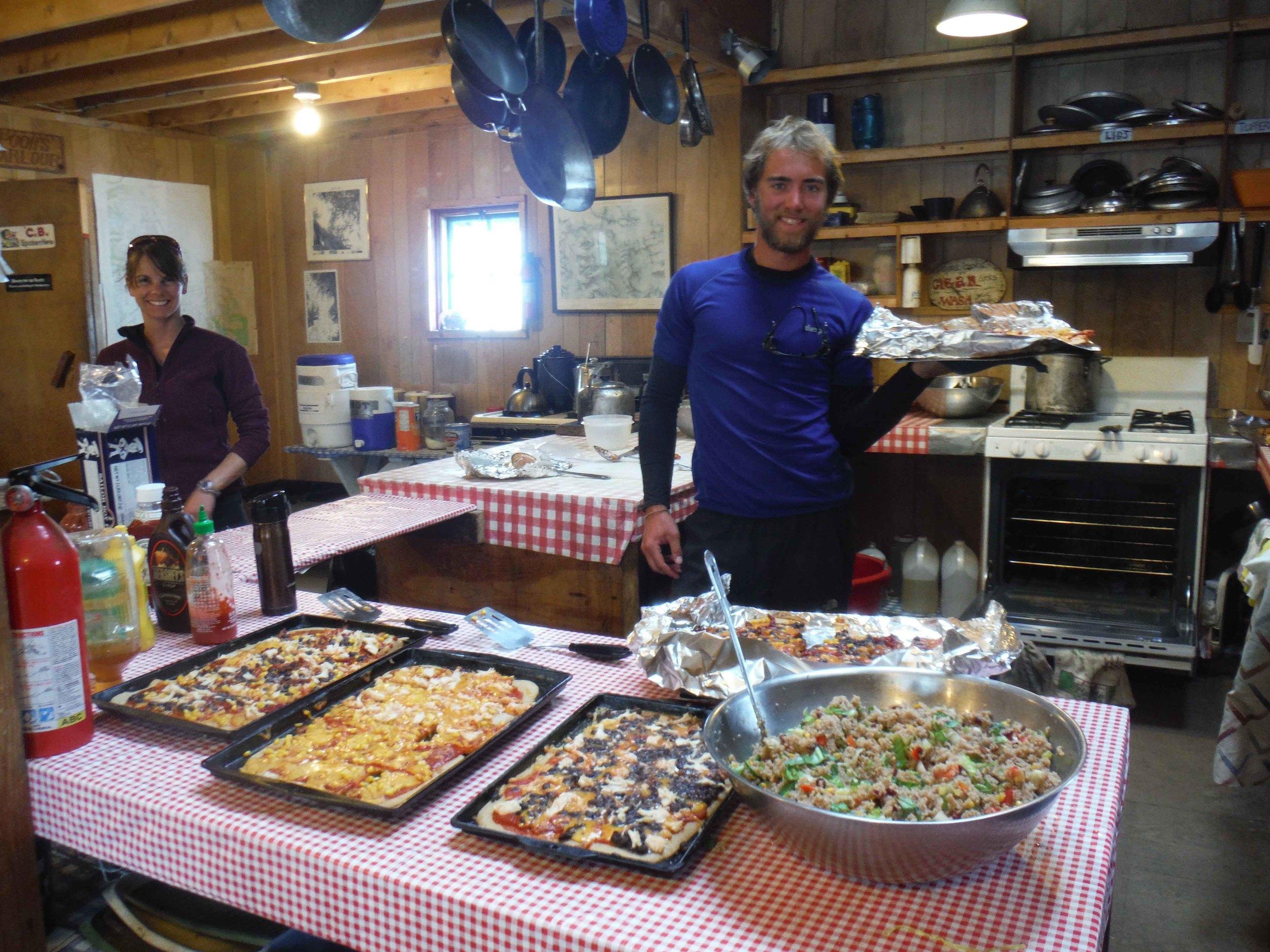A happy chef (Jon Doty) always makes the meal better. Photo by Sarah Bouckoms