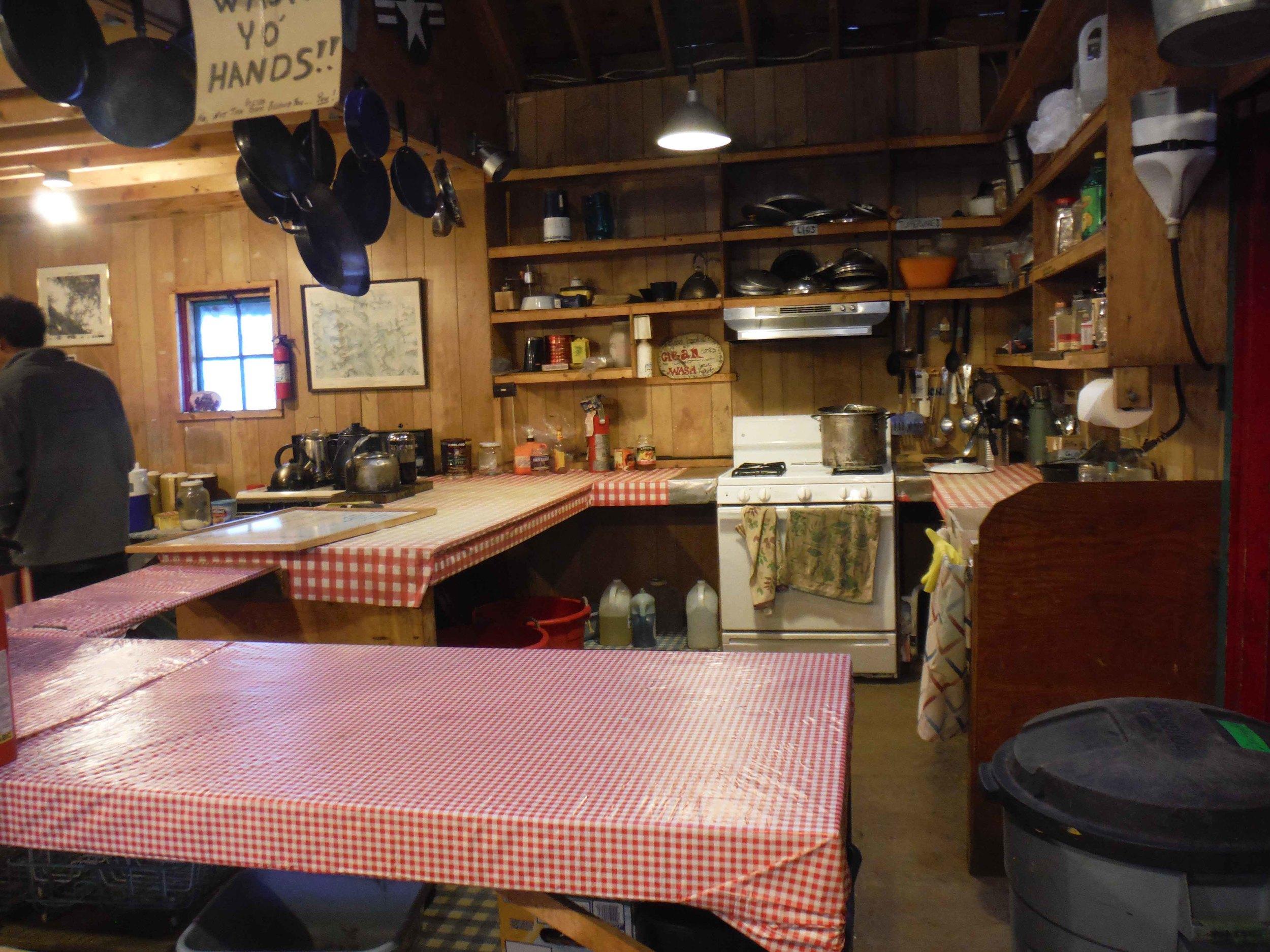 The kitchen is clean again . . . sigh . . . Photo by Sarah Bouckoms